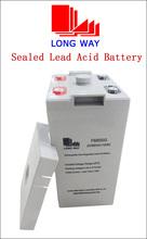 2volt Rechargeable equipment UPS Battery 2v500ah 10hr battery manufacturer