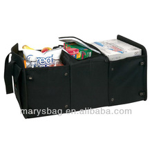 30 Can Cooler/Trunk Organizer features two spacious side compartment