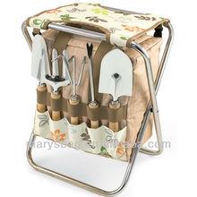 Gardener - Botanica Folding Garden Seat W/ Tools & Detachable Bag