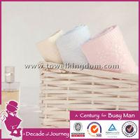 100 Bamboo Towel Fabric Plain Dyed Face Towel