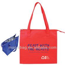 Insulated Nonwoven Triangle Market Tote Bag