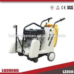 Zhengzhou luzheng walk behind engine concrete/asphalt road cutter