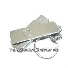 USB flash drive wholesale in dubai Swivel flash Mini flash New metal 360 degrees swivel key chain model