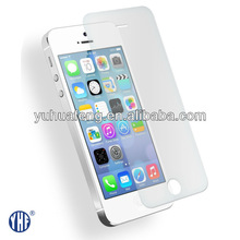 water proof cell phone case bubble free screen protector tempered glass screen cover for iPhone 5s 5c
