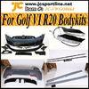R20 Car Body Kit Hot Selling MK6 PP Body Kits For Volkswagen Golf VI 6