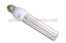 8,000h quartz E27 screw lamps base 185nm 254nm UV germicidal self-ballasted lamp 10w 15w 20w