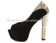 Fashion sexy high heel office shoes women platform heels( style no. WP5773)