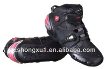 Motorcycle Mens Leather Motorbike Boots Speed Bikes A09003