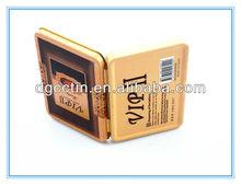 Printed business card tin box holder,name card tin box
