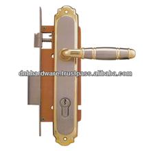 Brass Lock Door Handle