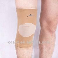 Four ways pull elastic performance nylon knee support