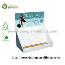 retail travel yoga pop display box cardboard advertising light box display