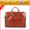 2014 new arrive 15.6 inch men's business genuine leather laptop bag wholesale