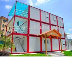 Bueatifully design and Practical Prefabricated Container hotel