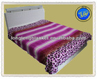 100% Polyester New Design King Size Flannel Blanket/Fabric