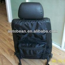black polyester car back seat organizer car seat hanging organizer car pocket organizer