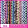 Fashion colorful Plastic Rhinestone Banding