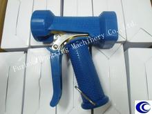 Washing down gun without bow (trigger guard)