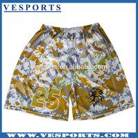 Custom Made Full Sublimation Basketball Shorts