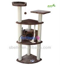 Wooden Pet furniture Cat tree cat house