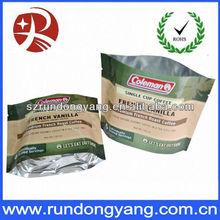 powdered milk zipper locked bag heat-seal