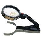 2014 desktop ajustable led working magnifier