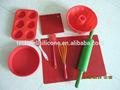 2014 de la alta calidad 100% de la categoría alimenticia LFGB / FDA de silicona de la fábrica de silicona utensilios de cocina