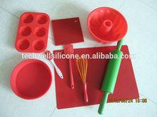 2014 high quality 100% LFGB/FDA Silicone factory silicone kitchenware