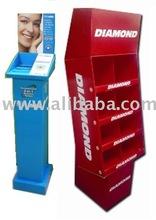 Display Stand / Standee / Floor Cardboard Display / Rack
