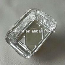 Airline disposable large aluminum foil tray
