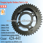 motorcycle parts excellent wear spline sprocket and pinion