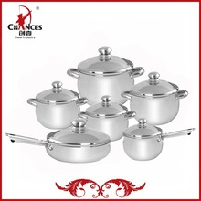 12 Pieces Excellent Value Stainless Steel Non Stick Cooking Set Heats Quickly And Evenly For Faster Cooking And Great Taste