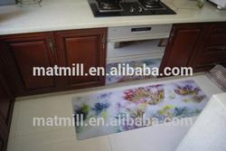 Good Quality Custom Natural Rubber Suede Waterproof Floor Mat