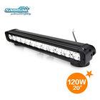"20"" 10W ecah CREE LED light bar,120W SM6012-120,offroad led light bar cree"