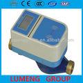 electrónico de lectura a distancia uso residencial intellignce digital ic tarjeta de prepago medidor de agua dn15mm 20mm 25mm