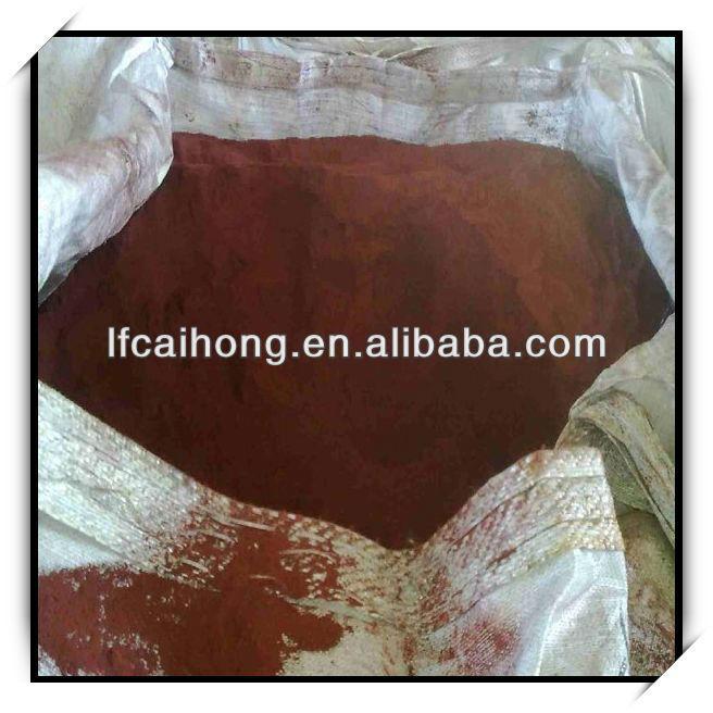 Cosmetic grade/enamel grade iron oxide red 130.120.190 pigment