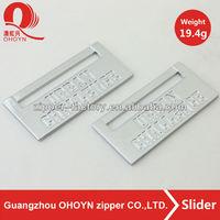 19.4g high quality handbag logo metal plate tag for bag