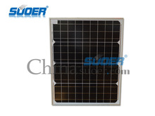 Suoer Factory Price Solar Panel 50w 18v Solar Cell Module with CE&ROHS