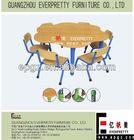 Adjustable Children Table and Chairs,Children Table Set used Children/Kindergarten/Nursery/Daycare/Preschool Furniture