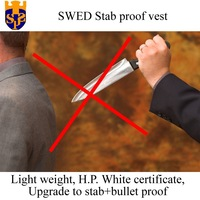 SWED stab proof vest anti stab of knife, cutting, puncture, chop and needle