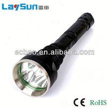 laysun aluminum alloy zoom focus glare long range outdoor waterproof flashlight for dollar store 2 years warranty