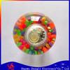 China bouncing ball with bead big air ball spiky bouncing ball with bead