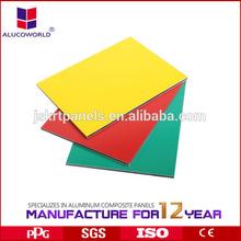 building construction material supplier/ aluminum composite panel exterior wall cladding
