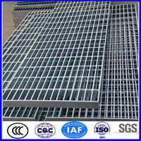 galvanized steel bar grating weight/steel bar grating specification