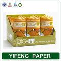individuell bedruckte papier karton display zähler fancy einzelhandel boxen
