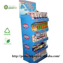 Promotional item reinforced strong capacity modular countertop retail floor displays