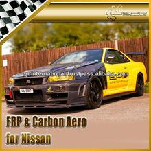 Nissan Skyline R34 GTR Z-Tune Carbon Fiber / FRP Front Bumper