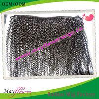 human unprocessed virgin brazilian hair extension tight curly hair weaving for black women