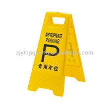 A frame Warning sign
