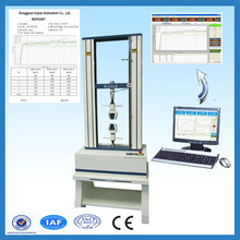 KJ-1066 Plastic, Rubber, Textile, Synthetic chemicals Computer Tensile Strength Tester